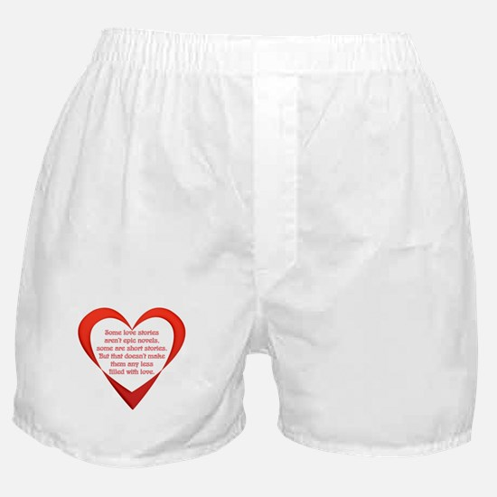 SATC Carrie Love Story Boxer Shorts