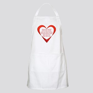 SATC Carrie Love Story BBQ Apron