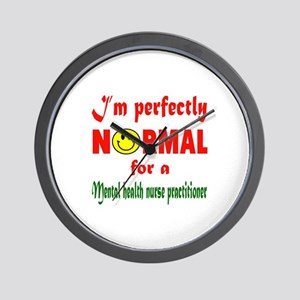 I'm perfectly normal for a Microbiologi Wall Clock