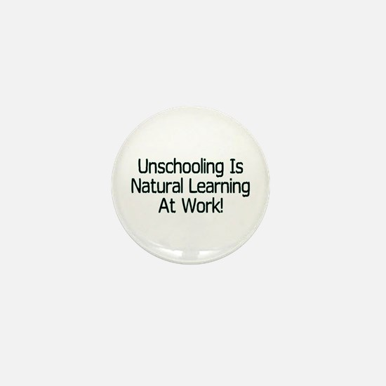 Unschooling Mini Button