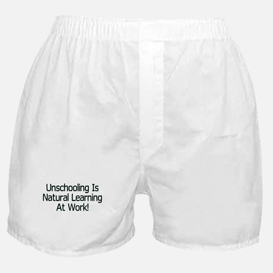 Unschooling Boxer Shorts