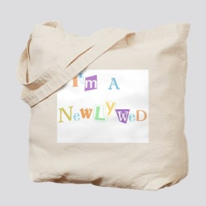 I'm a Newlywed Tote Bag