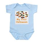 Kids Halloween Candy Infant Creeper