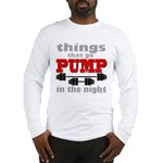 Bodybuilding Pump In The Night Long Sleeve T-Shirt