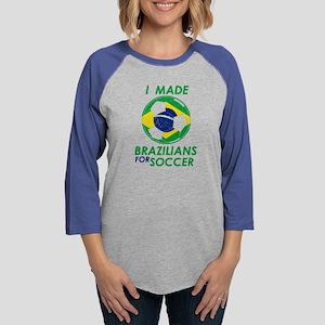 brazilian Flag Gear Long Sleeve T-Shirt