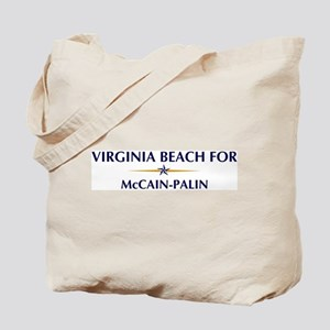 VIRGINIA BEACH for McCain-Pal Tote Bag