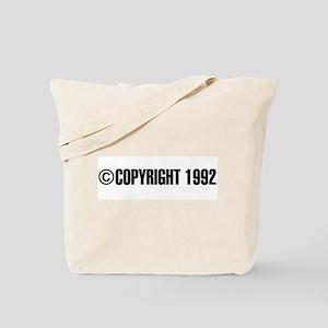cCopyright 1992 Tote Bag