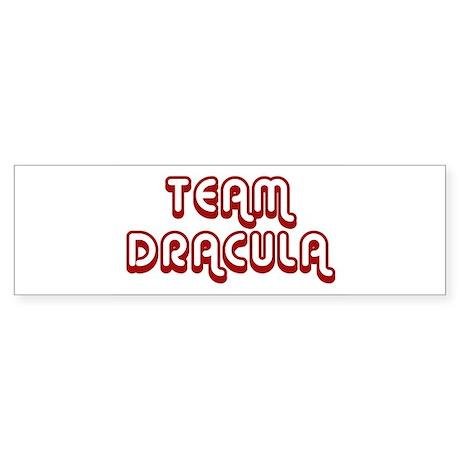 Team Dracula Bumper Sticker