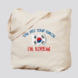 Korean Kimchi Tote Bag