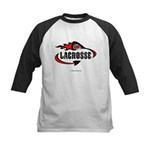 Lacrosse-DevilTail-Flame-7x7 Baseball Jersey
