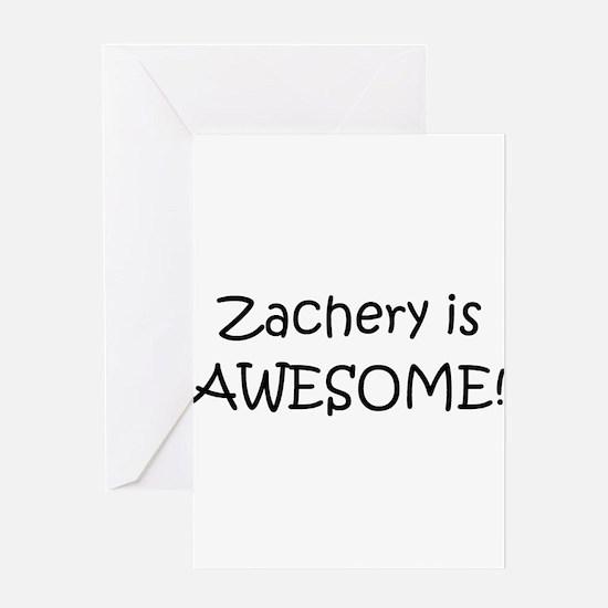 Cool Zachery Greeting Card