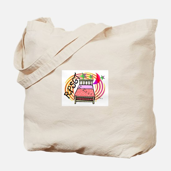 Sleep Study Tote Bag