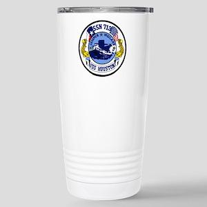 USS Houston SSN 713 Stainless Steel Travel Mug