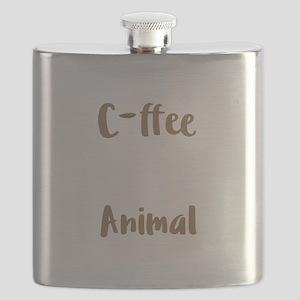 Coffee Lover Spirit Animal Coffee Birthday G Flask