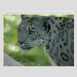Snow Leopard M004 Wall Calendar
