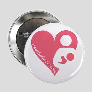 "Breastfeeding is Love 2.25"" Button"