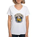 Vikings Women's V-Neck T-Shirt