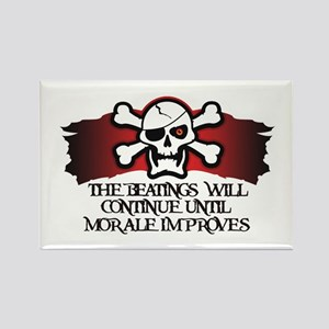 Pirate Morale Rectangle Magnet