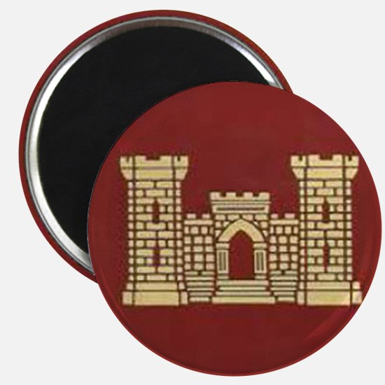 Army Engineer Magnet