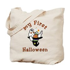 My First Halloween Baby Tote Bag