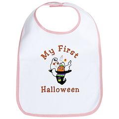 My First Halloween Baby Bib