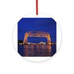 Duluth Aerial Lift Bridge & John G. Round Orna