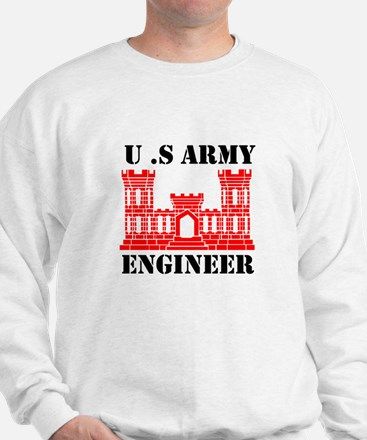 Army Engineer Castle Sweatshirt