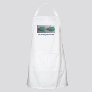 in a centrifuge BBQ Apron