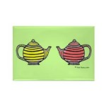 Teapots! Rectangle Magnet (10 pack)