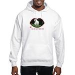 Clumber Spaniel Hooded Sweatshirt