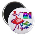 21st Birthday Party Favors! Magnet