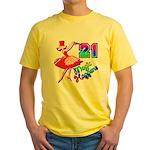 21st Birthday Yellow T-Shirt