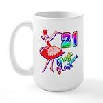 21st Birthday Large Mug