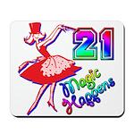 21st Birthday Mousepad