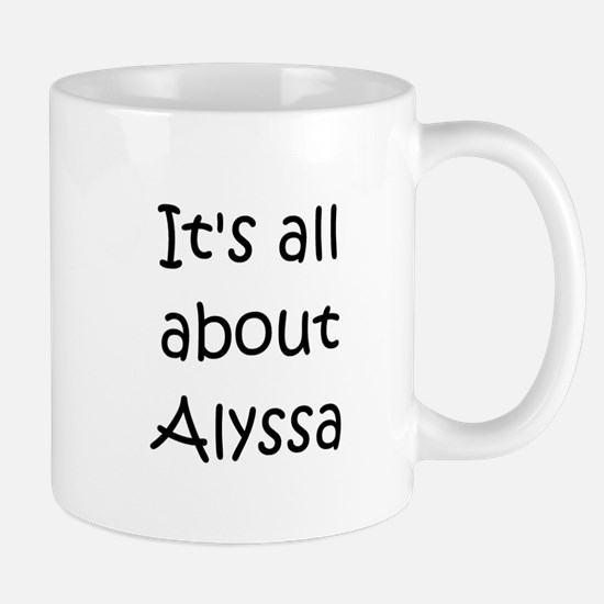 Cute Alyssa Mug