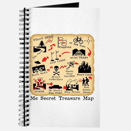 ME SECRET TREASURE MAP Journal