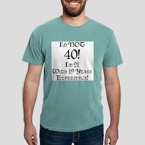 Classy 40th Birthday Ash Grey T-Shirt