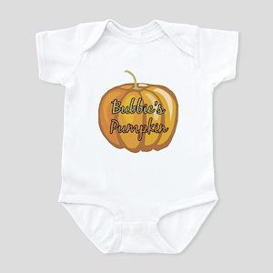 Bubbie's Pumpkin Infant Bodysuit