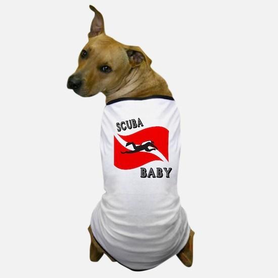 Scuba Baby Dog T-Shirt