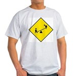 Playground Sign Ash Grey T-Shirt
