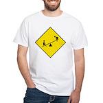 Playground Sign White T-Shirt