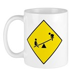 Playground Sign - Mug