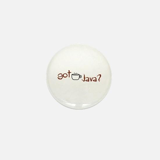 Got Java? Mini Button