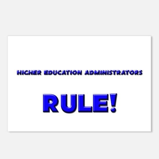 Higher Education Administrators Rule! Postcards (P