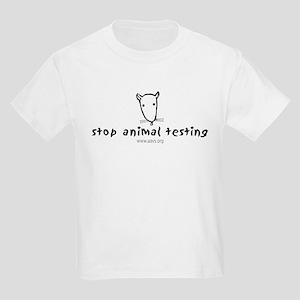 Stop Animal Testing (Kids Light T-Shirt)