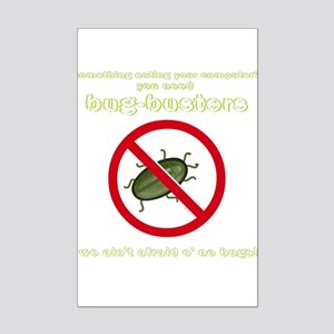 Bug-Busters Mini Poster Print
