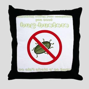 Bug-Busters Throw Pillow