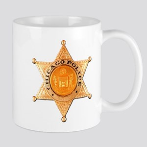 Chicago PD Badge Mug