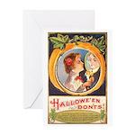 Halloween Don'ts Greeting Card