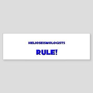 Helioseismologists Rule! Bumper Sticker